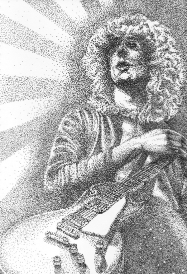 Jimmy Page by misty-mountain-hop